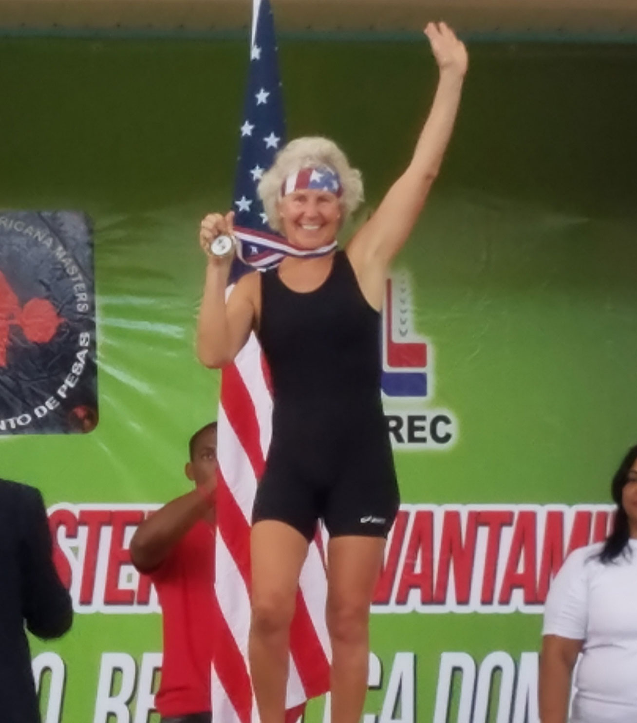 Laura Eiman Gold Medal Olympics