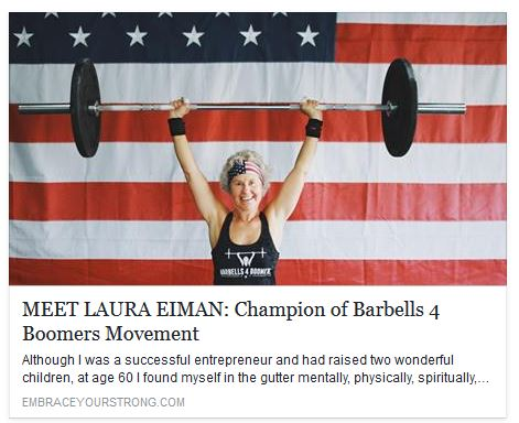Champion of Barbells 4 Boomers Movement